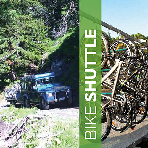 Bike Shuttle in Bormio
