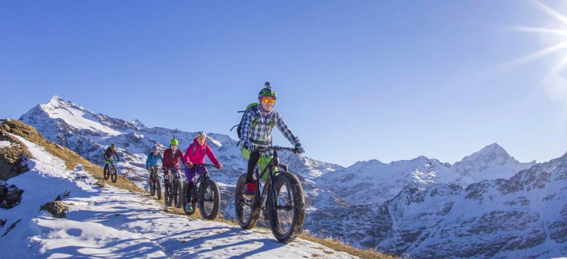 fat bike in Bormio, Livigno, Santa Caterina